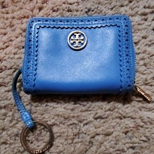 Tory Burch key chain/coin purse EUC